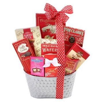 Alder Creek Gifts Sweet Valentine Gift Basket