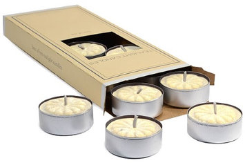 Usc 3 boxes of French Vanilla Tea Lights 10 candles per box 1.5 in. diameter x .63 in. tall (Pack of 3)