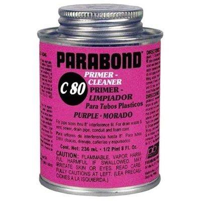 Ez-Flo 76218 Parabond 1/4 Pint Purple Primer Cleaner All Purpose Low VOC