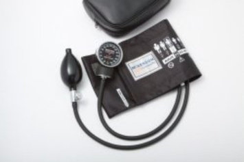 Aneroid Sphygmomanometer McKesson Pocket Style Hand Held 2-Tube Large, Adult Arm (#01-720-12XBDGM, Sold Per Case)