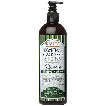 Shea Terra Organics Egyptian Black Seed Henna Shampoo