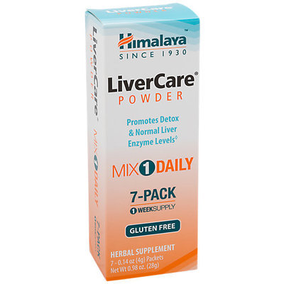 Liver Care Himalaya Herbals 7 Packets Box