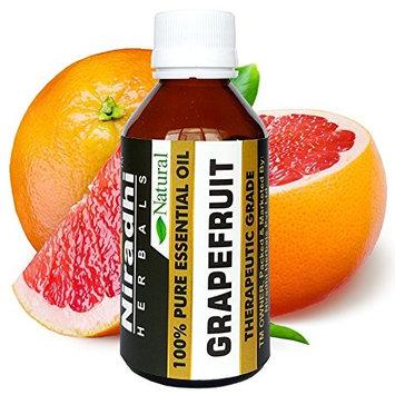 Grapefruit Oil from Niradhi Herbals : Best Therapeutic Grade Essential Oil-120 ml/4.1 FL OZ