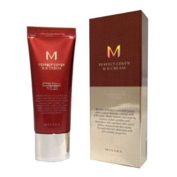 MISSHA M Perfect Cover Bb Cream with SPF 42 Pa+++, No.23 Natural Beige