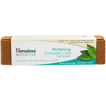 Toothpaste Whitening Complete Care Simply Mint Himalaya Herbals 200 grams Paste