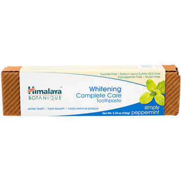 Toothpaste Whitening Complete Care Simply Peppermint Himalaya Herbals 200 grams