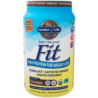 Raw Organic Fit Chocolate Garden of Life 922 grams Powder