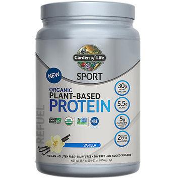 Sport Organic Plant-Based Protein Vanilla Garden of Life 806 grams Powder