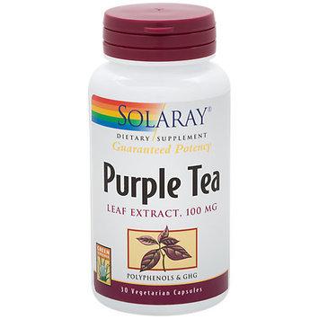 Purple Tea Solaray 30 Caps