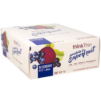 ThinkThin Protein & Superfruit Blueberry Bar