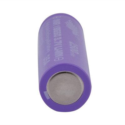 18650 Li-ion 2500mAh Capacity 3.7V Rechargeable Battery for LED Torch Flashlights Purple & Red Shell 2pcs/set~~
