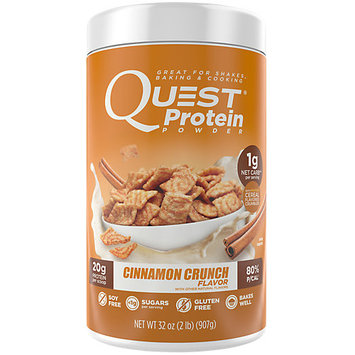 Quest Nutrition Quest(r) Protein Powder - Cinnamon Crunch