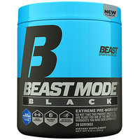 Beast Sports Nutrition Beast Mode Black