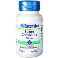 Super Carosine 500 mg Life Extension 60 VCaps