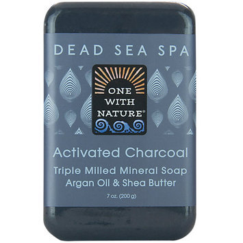 One with Nature 1841667 7 oz Charcoal Bar Soap Case of 6