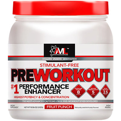 Advanced Molecular Labs Preworkout - 20 Servings Stimulant-Free Fruit