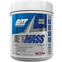 GAT Sport JetMASS - 30 Servings Black Cherry