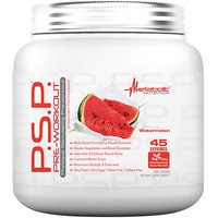 Metabolic Nutrition P.S.P Pre-Workout, Watermelon, 360 Grams