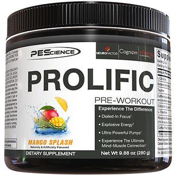 PES Prolific - 20 Servings Mango Splash
