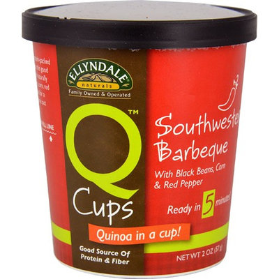 NOW Foods Ellyndale Naturals™ Q Cups™ Quinoa in a Cup Sothwestern Barbeque - 2 oz pack of 4