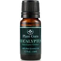 Plant Guru Eucalyptus Essential Oil. 10 ml. 100% Pure, Undiluted, Therapeutic Grade. []