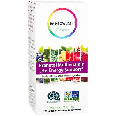 Prenatal Multivitamin Plus Energy Support, 120 Vegetarian Capsules, Rainbow Light
