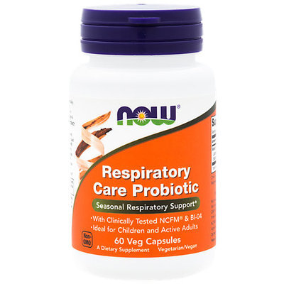 Respiratory Care Probiotic Now Foods 60 VCaps