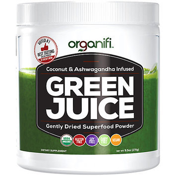 Organifi - Green Juice Super Food Supplement (270g) 30 Day Supply. USDA Organic Vegan Greens Powder
