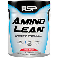 RSP Nutrition Amino Lean Natural Focus, Energy & Weight Loss Formula Fruit Punch (30 Servings)