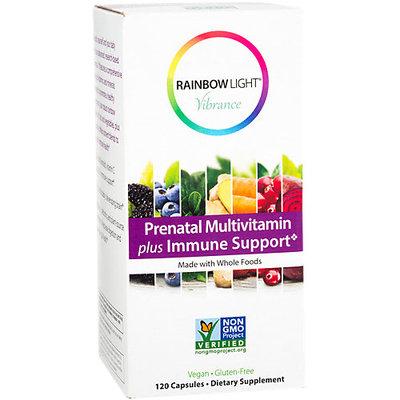 Prenatal Multivitamin Plus Immune Support, 120 Vegetarian Capsules, Rainbow Light