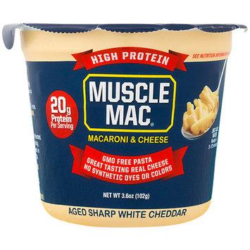 Muscle Mac High Protein Macaroni White Cheddar