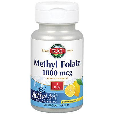 Methyl Folate ActivMelt Lemon Kal 60 Lozenge