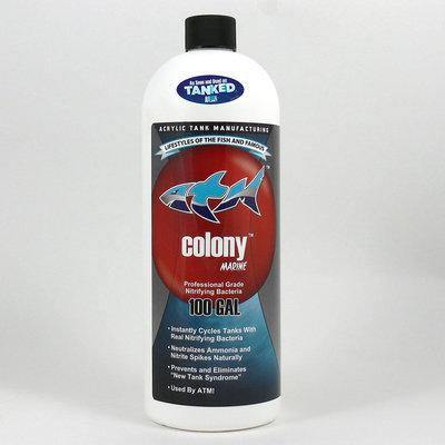 Acrylic Tank Manufacturing Colony Saltwater: 32 oz - (Treats 100 Gallo