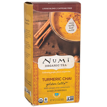 Numi Tea Turmeric Chai Latte with Ginger and Cardamom