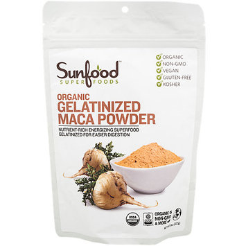 Sunfood Superfoods Organic Gelatinized Maca Powder