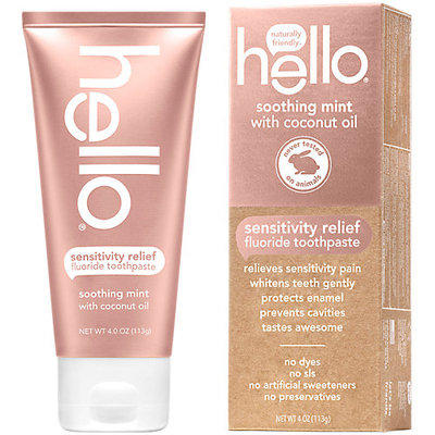hello Soothing Mint with Coconut Oil Toothpaste - 4oz