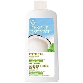 Desert Essence Coconut Oil Dual Pulling Rinse