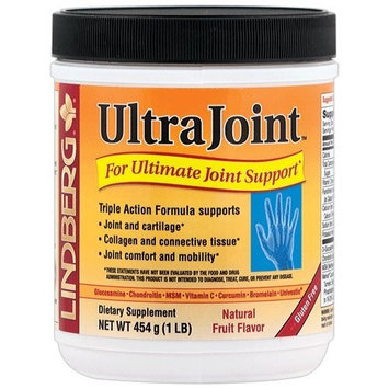 Lindberg UltraJoint Powder 1 Lb - A Comprehensive, Triple-Action Joint Formula