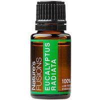 Natures Fusions Nature's Fusions - Eucalyptus Radiata Therapeutic Essential Oil - 15 ml.