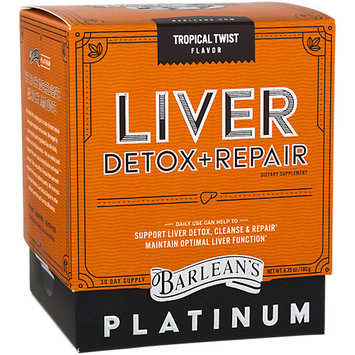 Barleans Liver Detox & Repair Tropical Twist Barlean's 6.35 oz Powder