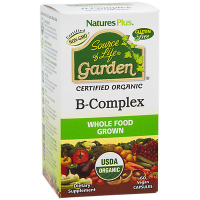 Source Of Life Garden B Complex Nature's Plus 60 Caps