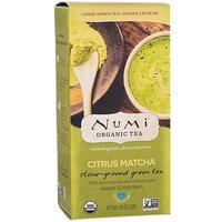 Frontier 231309 Numi Tea Citrus Matcha Loose Leaf Tea 12 Serving Box
