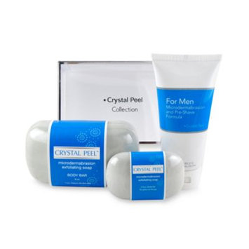 Crystal Peel Men's Microdermabrasion Pre-Shave Collection Duo