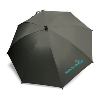Wonder Buggy Universal Uv Protective Stroller Parasol - Black
