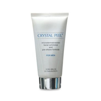 Crystal Peel Microdermabrasion Exfoliator and Pre-Shave Formula