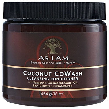 As I Am Coconut Cowash Cleansing Conditioner 16oz by I Am