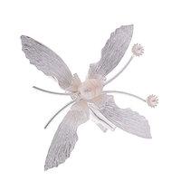 Fenteer New Butterfly Alloy Hairpin Women Hair Clip Head Accessory