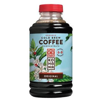 Kohana Organic Cold Brew Coffee Concentrate - Original - Case Of 12 - 16 Fl Oz. 16 Fz