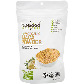 SunFood Raw Organic Maca Powder 4 oz