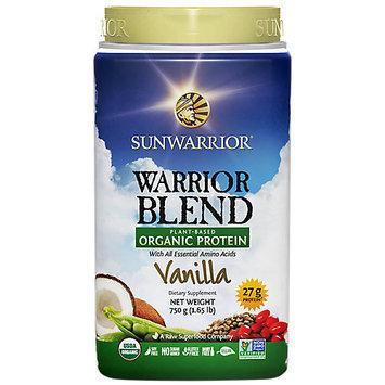 Sunwarrior Warrior Blend Plant-Based Organic Protei 1.65 lb (750 grams) Pwdr